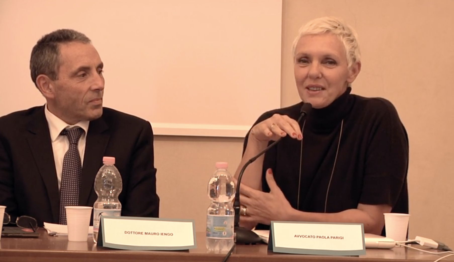 Paola Parigi Intervista Convegno Società ANF Bologna