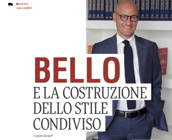 Intervista MAG Francesco Paolo Bello