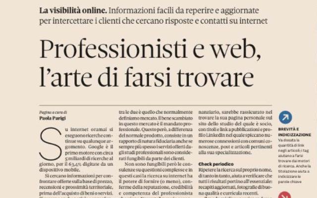 Articolo Paola Parigi Web Studi Legali